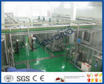 Linha de processamento do suco de fruto
