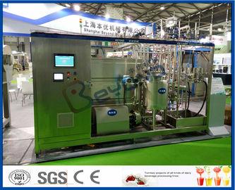 Linha de processamento do leite do UHT
