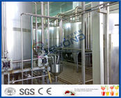 Full Automatic Yogurt Production Equipment , 2000L - 20000LPH Industrial Yogurt Machine