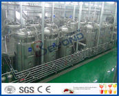 Sanitary Safety Fruit Juice Processing Juice Factory Machinery With Full Auto CIP Cleaning