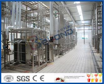 Maquinaria multifuncional da produção de leite para o leite de UHT/creme/manteiga pasteurizados