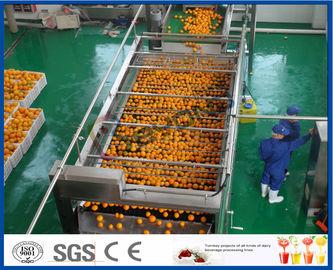 linha de processamento alaranjada do extrato automático do suco de laranja 10TPH para o suco que faz a fábrica