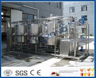 1000L - 10000L que limpa o sistema no lugar, indústria de leiteria dos sistemas do Cip com 4 circuitos dobro do tanque