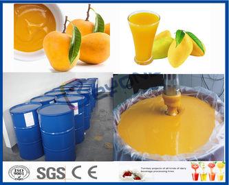 Linha de processamento da manga da máquina do processador do fruto para a fábrica de tratamento do suco